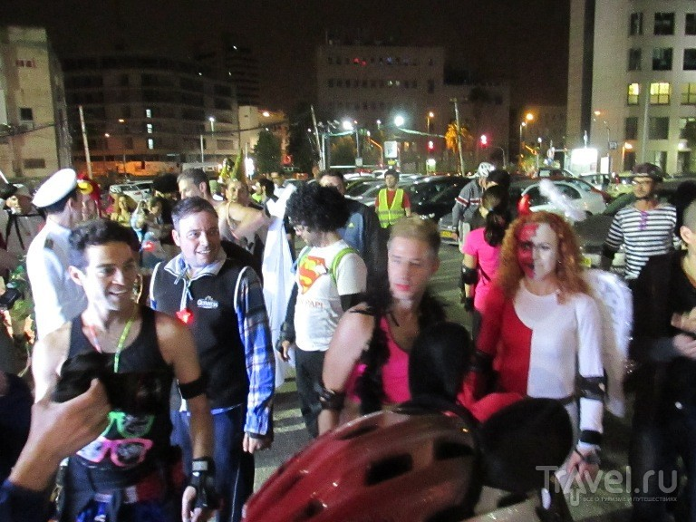 Тель-Авив ночью / Израиль
