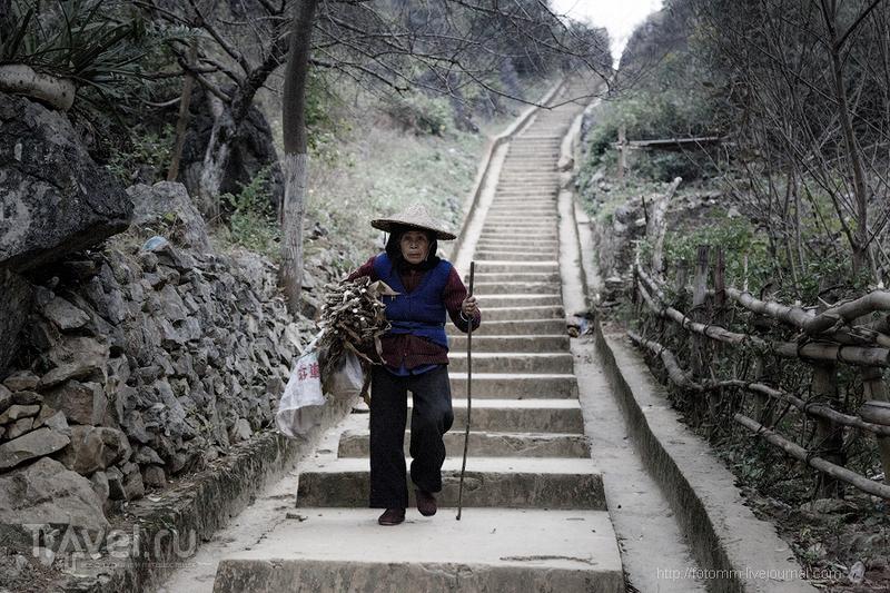 Северный Вьетнам. Одни в пещере / Фото из Вьетнама
