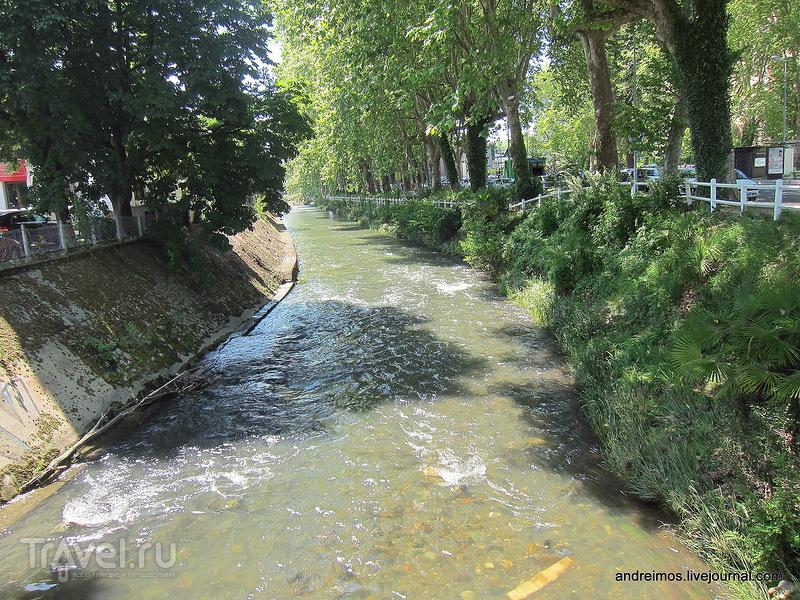 Река Ус (Ruisseau de l'Ousse) / Фото из Франции