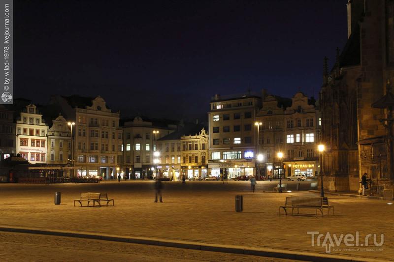 Площадь Республики, Плзень / Чехия