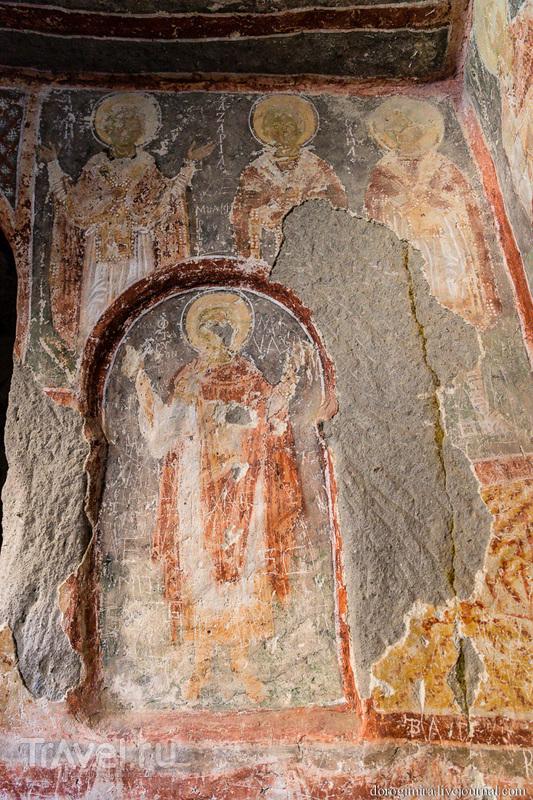 Пещерные церкви Каппадокии. Долина Ихлара / Фото из Турции