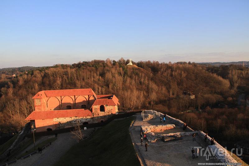 Вильнюс с высоты башни Гедиминаса / Литва