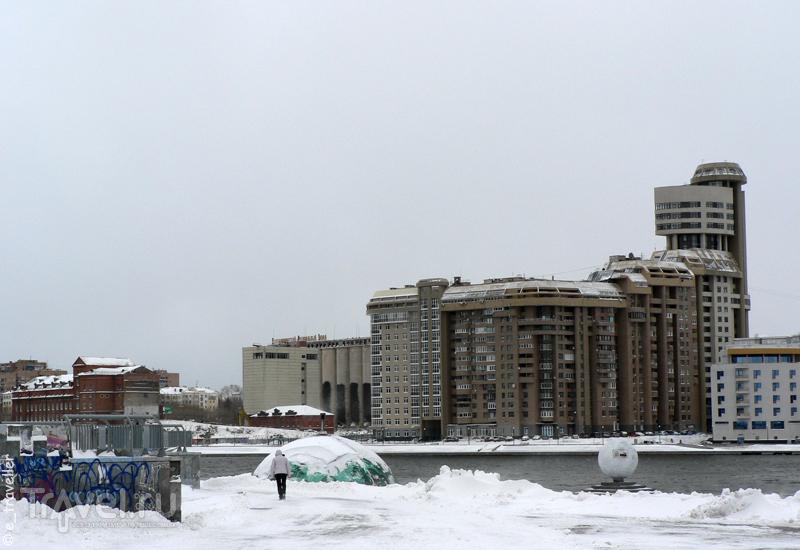Прогулка по заснеженному Екатеринбургу накануне 1 мая. Городской пруд и Симановская мельница / Россия
