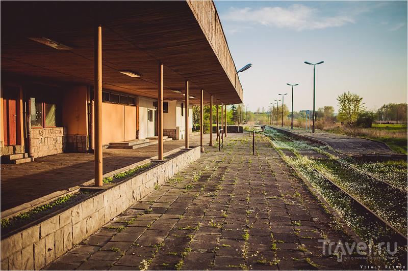 Заброшенная станция Фромборк / Польша