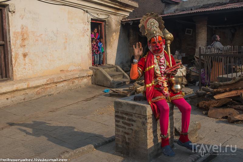 Коммерческие садху / Фото из Непала