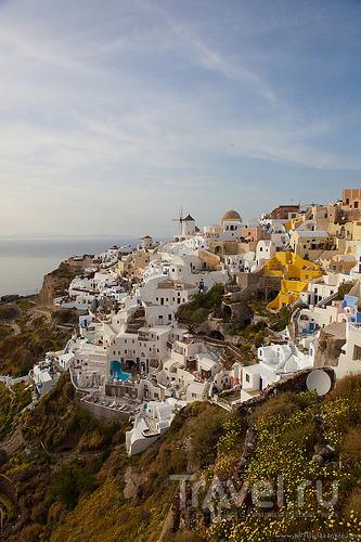 О еде на Санторини / Греция