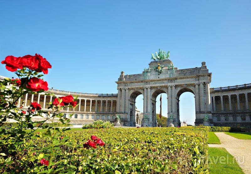 Достопримечательность Брюсселя: парк Пятидесятилетия