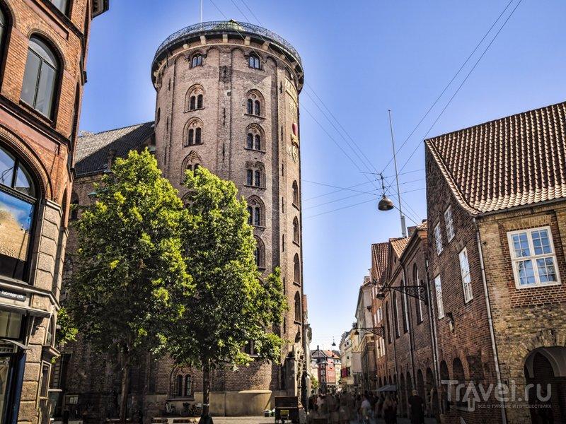 Круглая башня - лучшая смотровая площадка Копенгагена