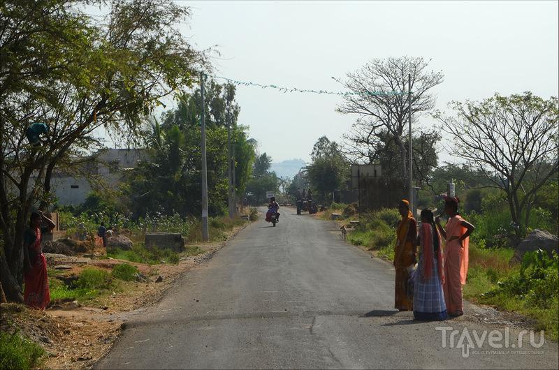 Дорога в Хампи / Индия