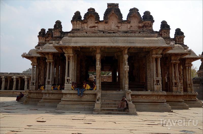Индия. Хампи. Храм Виттала / Фото из Индии