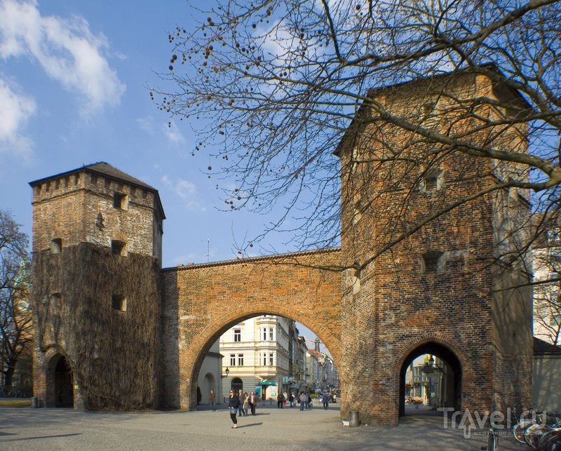 Зендлинские ворота были частью городских укреплений