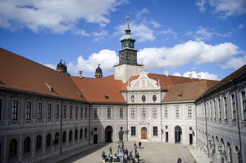 Один из дворов королевской резиденции в Мюнхене