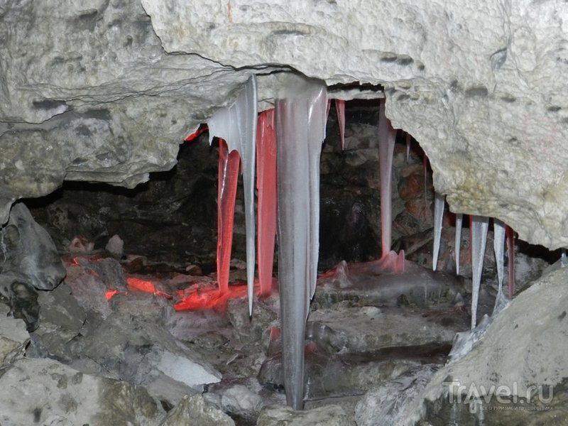 За ледяной сказкой. Кунгурская пещера / Россия