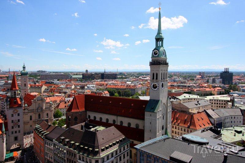 С колокольни собора открывается отличный вид на город