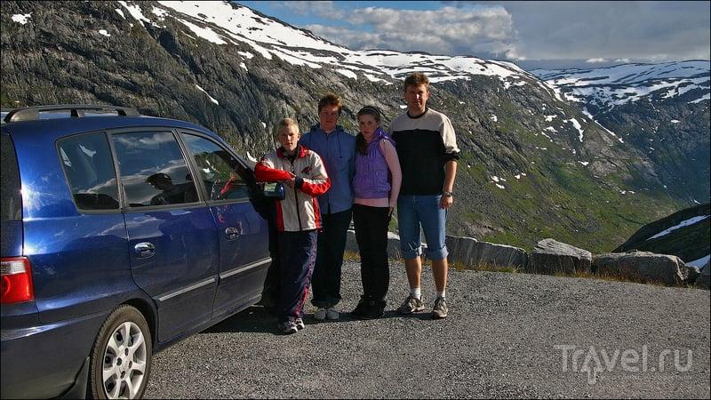 Styggevatnet: Ледниковое озеро и плотина / Фото из Норвегии