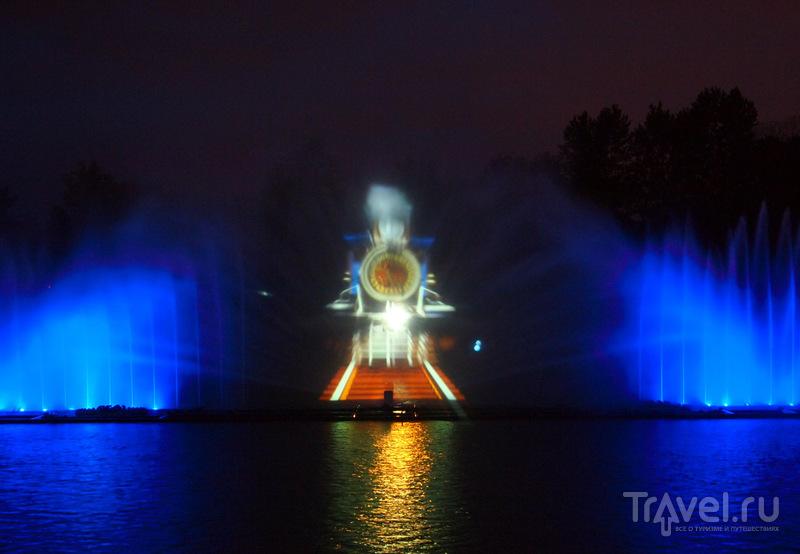 Уникальный светомузыкальный фонтан в Виннице / Украина