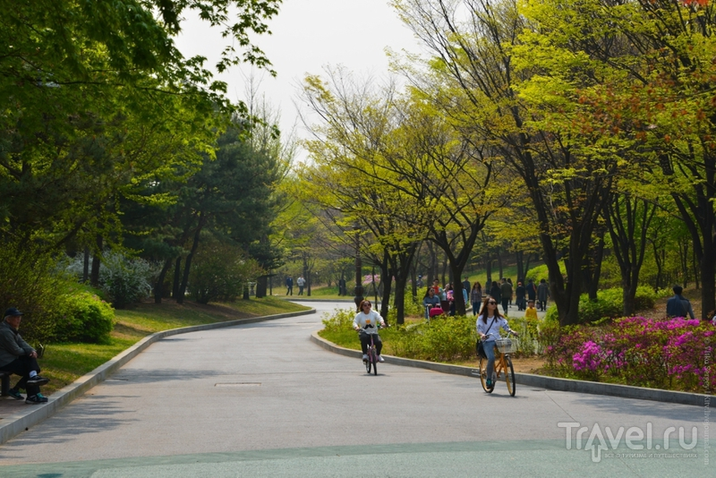 Остров Yeouido / Фото из Южной Кореи
