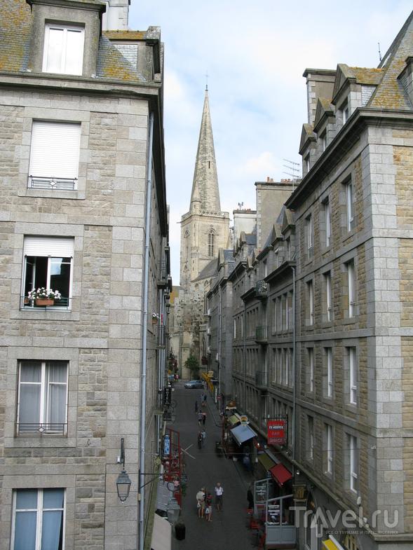 Сен-Мало, внутри городских стен / Франция