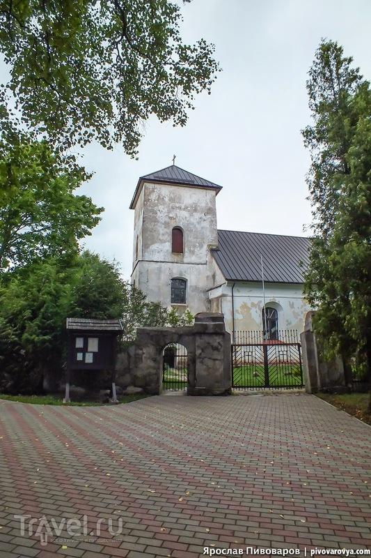 Замок Гробиня (Grobinja castle) в Латвии / Латвия