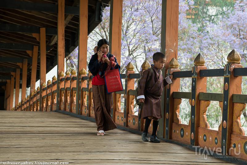 Самый красивый дзонг Бутана и фаллосы / Фото из Бутана