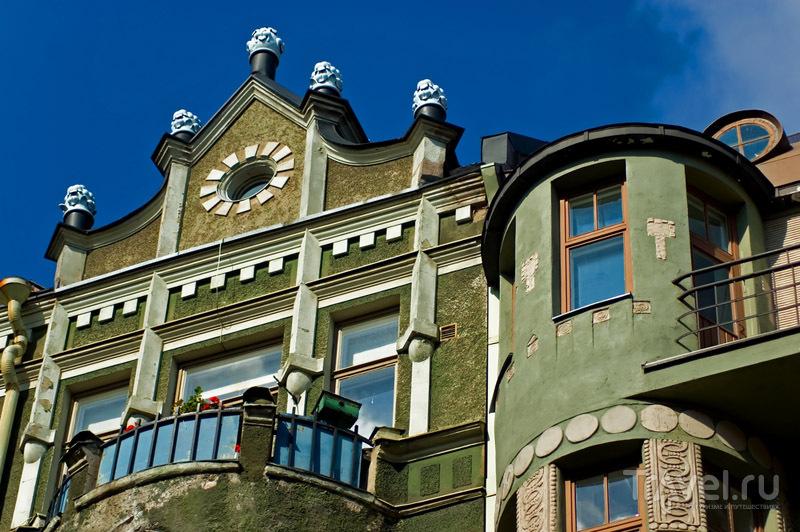Балкон в югендстиле, Хельсинки