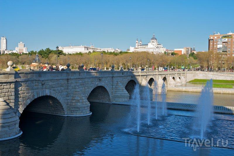 Фонтан у моста Сеговии в Мадриде