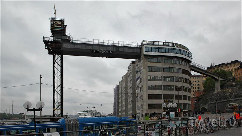 Откуда посмотреть на Стокгольм сверху?
