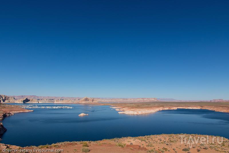 Водохранилище Пауэлл, США / Фото из США