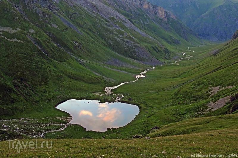 Архыз – край изумрудных озёр / Фото из России