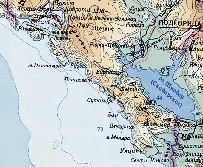 На востоке и западе Монтенегро / Черногория