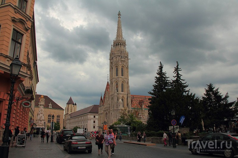 Чумная колонна  и храм Матьяша / Фото из Венгрии