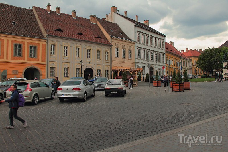 Старинная улочка к Рыбацкому бастиону / Фото из Венгрии