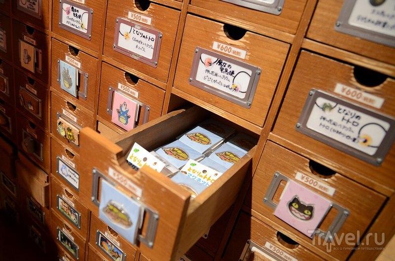 Токио. Магазинчик студии Ghibli / Япония