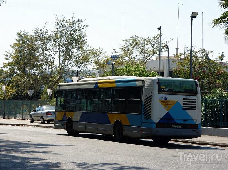 Общественный транспорт Афин / Греция