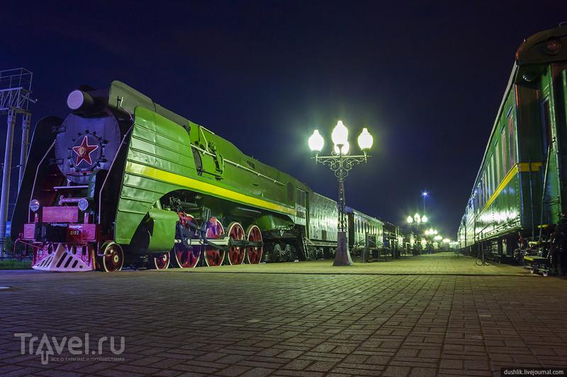 Ночь в музее истории Южно-Уральской железной дороги / Россия