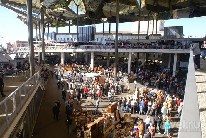 Блошиный рынок Барселоны / Испания