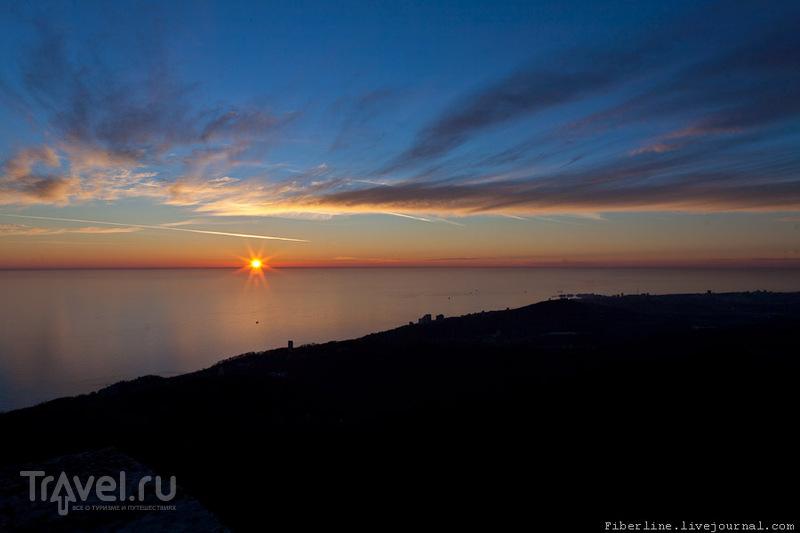 Сочи. Гора Ахун / Россия