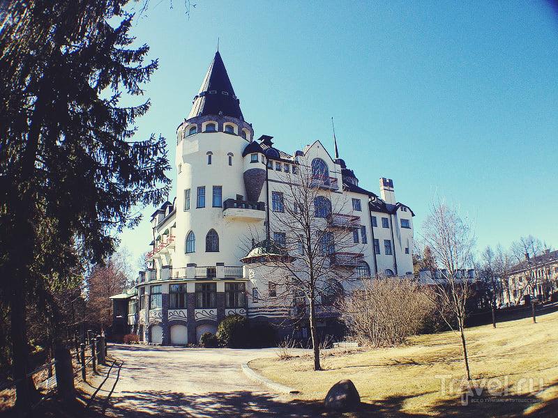 Первый опыт пересечения границы с Финляндией на велосипеде / Финляндия