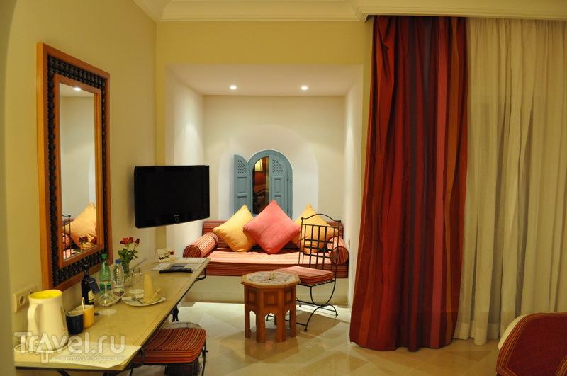 Уголок отдыха номера в отеле Hasdrubal Prestige 5* / Фото из Туниса