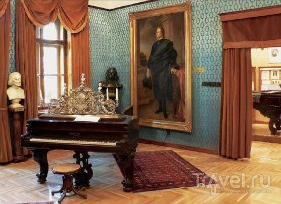 В музее Ференца Листа
