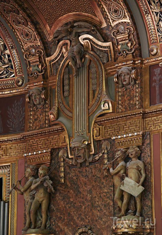 Внутреннее убранство Музыкальной академии Ференца Листа