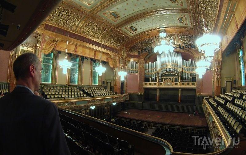 Большой зал в Музыкальной академии Ференца Листа