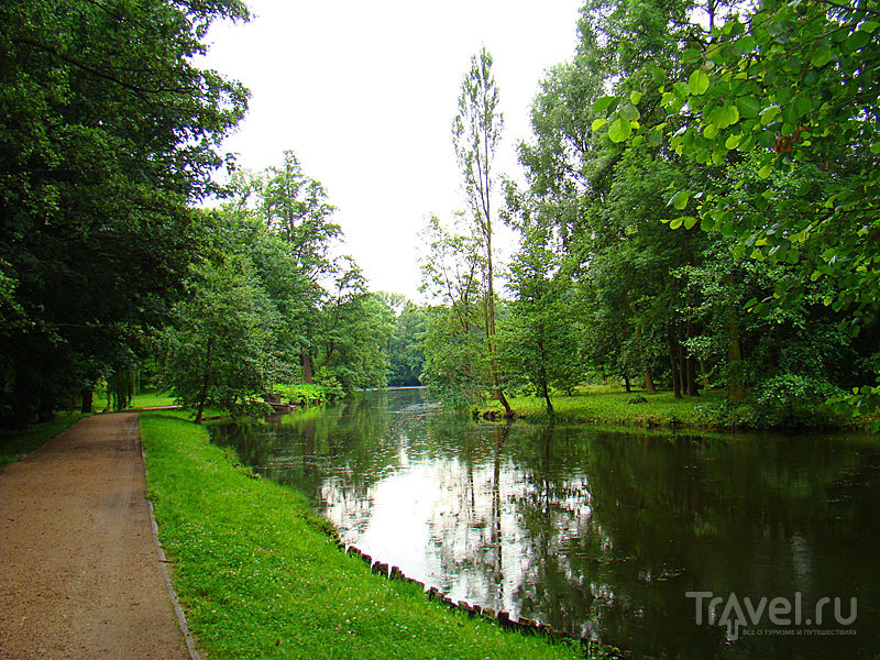 Романтичный парк Аркадия / Польша