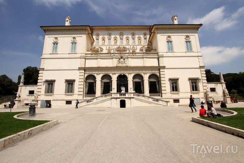 Здание галереи Боргезе