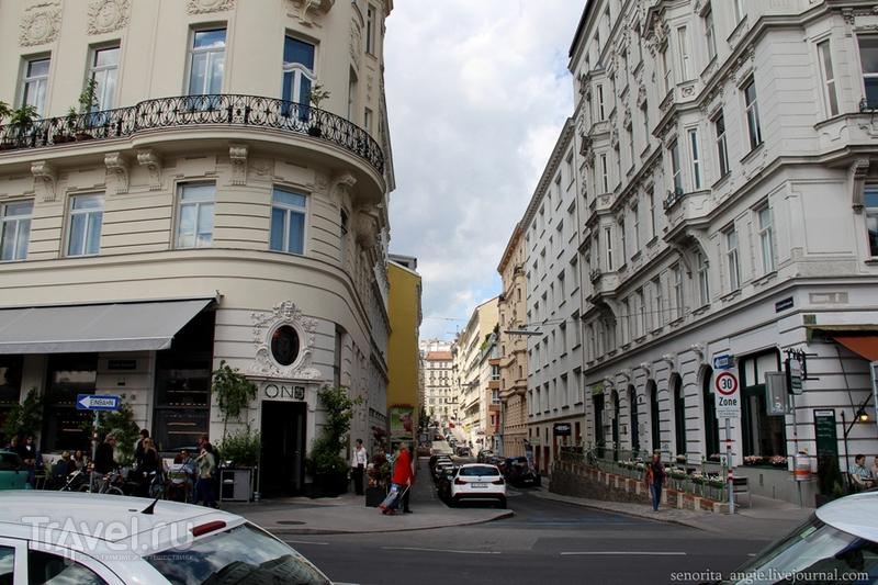 Венский Naschmarkt и его окрестности / Австрия