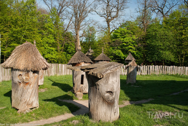 Весна в музее Пирогово / Фото с Украины