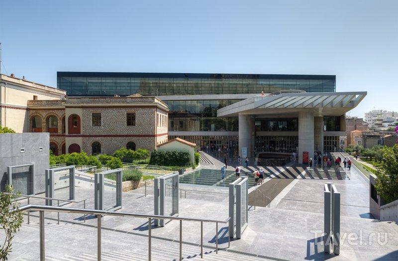 Здание Нового музея Акрополя