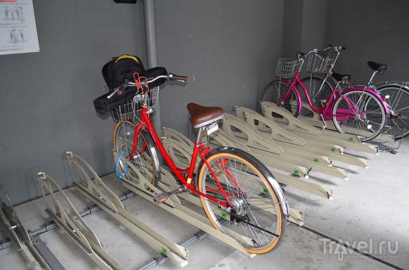 На велосипеде по Киото / Япония