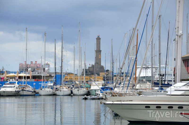 Генуэзский маяк. / Фото из Италии