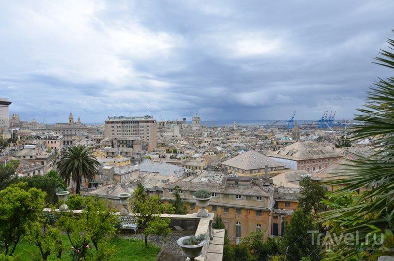Вид с лучшей в Генуе смотровой площадки. / Фото из Италии